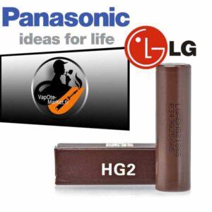 Accu HG2 18650 de LG