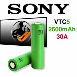 Accus VTC5 18650 de Sony