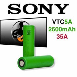 Accus VTC5A 18650 de Sony