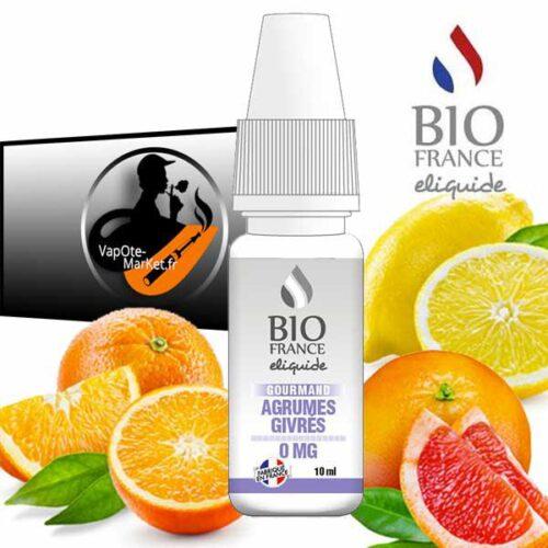 E-liquide Bio France Agrumes Givrés