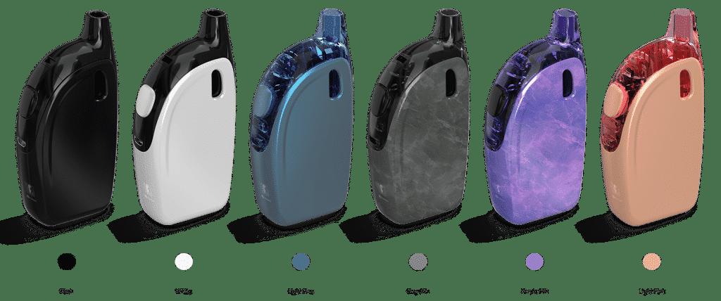 Les options de couleur de l'Atopack Penguin