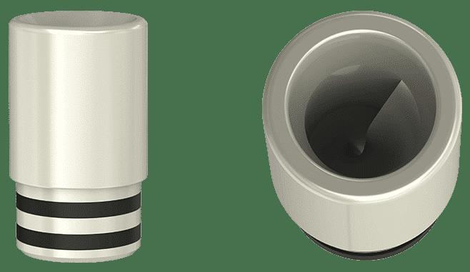 Drip tip en spiral pour éviter les projections de e-liquide