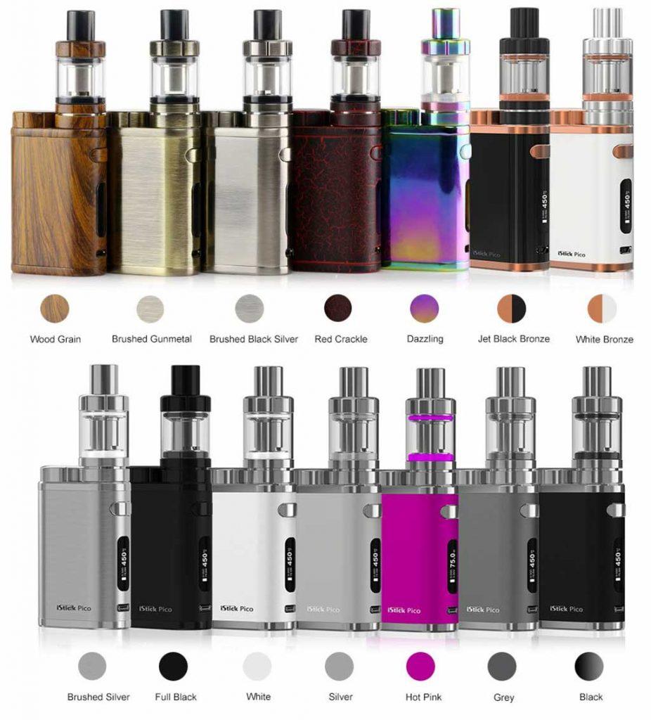 iStick Pico 75 couleurs