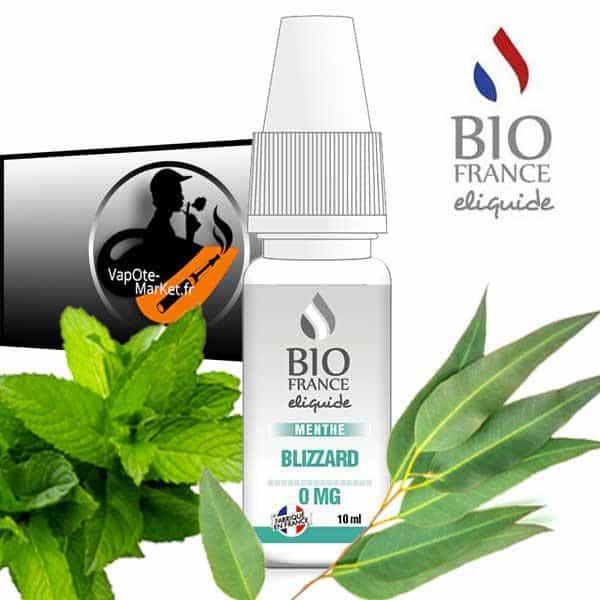 E-liquide Bio France Menthe Blizzard