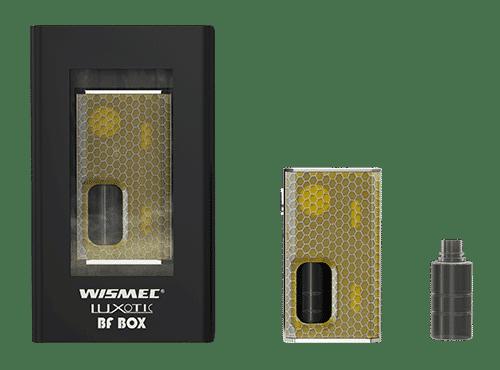 contenu du pack Luxotic BF de Wismec