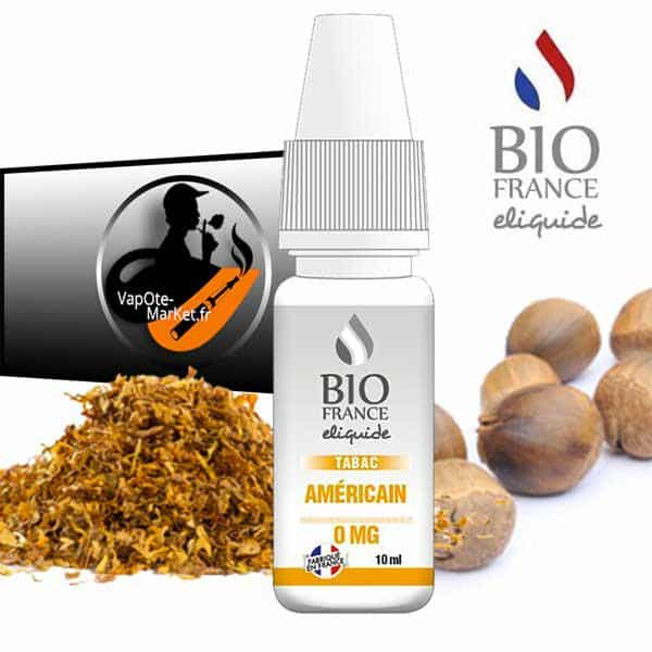 Bio France E-liquide Tabac Américain