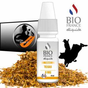Bio France E-liquide Tabac Texas