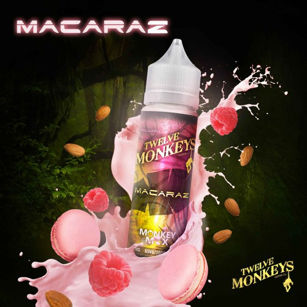 E-liquide Macaraz de Twelve Monkeys