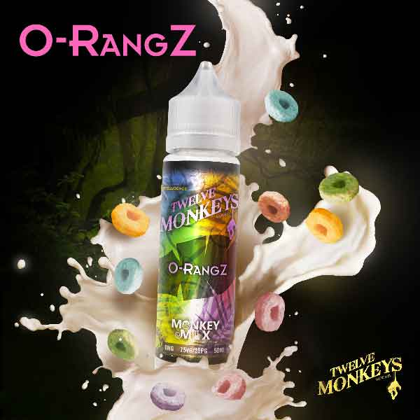 E-liquide O-rangZ de Twelve Monkeys