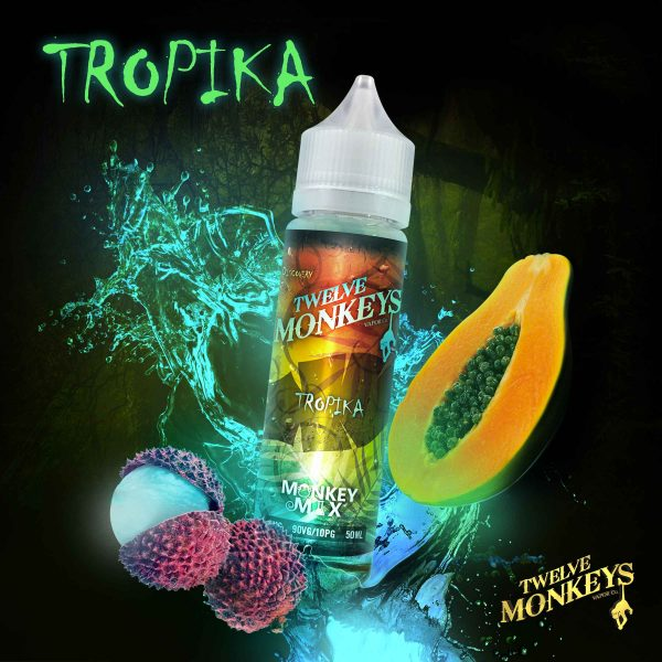 E-liquide Tropika de Twelve Monkeys