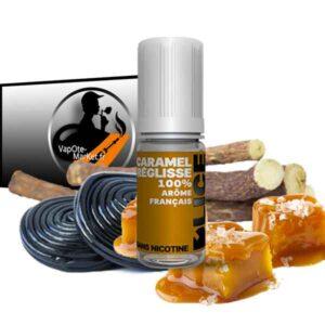 E-liquide Caramel Réglisse de D'lice
