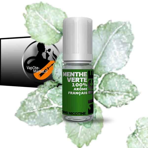 E-liquide Menthe Verte de D'lice