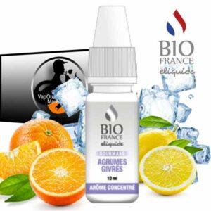 Arôme concentré Agrumes Givrés de Bio France E-liquide