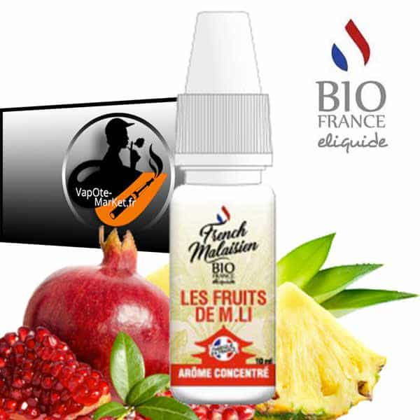 Arôme concentré Les Fruits De M.LI de Bio france E-liquide