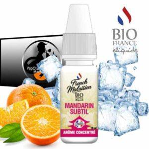 Arôme concentré Mandarin Subtil de Bio France E-liquide