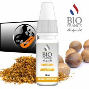 Arôme concentré Tabac Américain de Bio France E-liquide