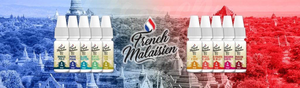Gamme French Malaisien de Bio France E-liquide