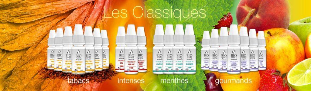 Bio France E-liquide Gamma Les Classiques