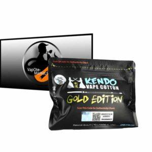 Coton Kendo Vape Gold Edition