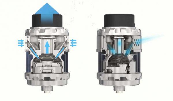Système Airflow du Kylin M RTA de Vandy Vape