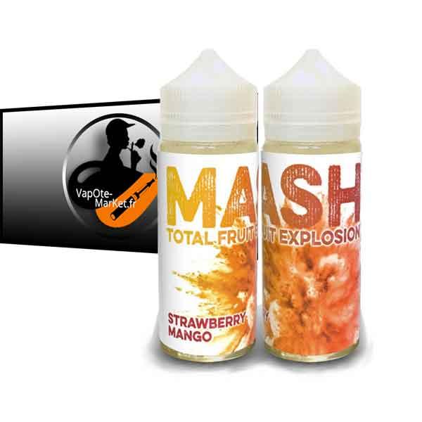 E-liquide Mash Strawberry Mango de Virtue Vape