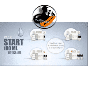 Pack Start Revolute booster de nicotine + base neutre