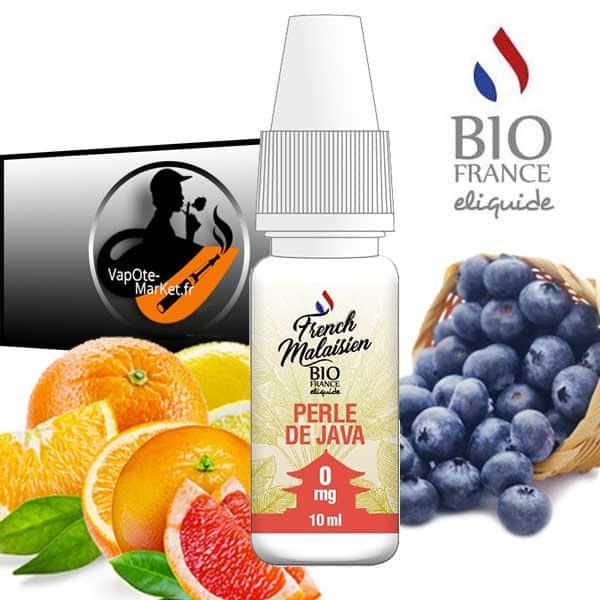 E-liquide Perle de Java de Bio France E-liquide