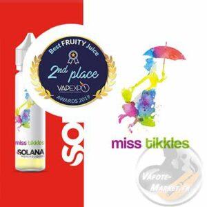 E-liquide Miss Tikkles de Solana