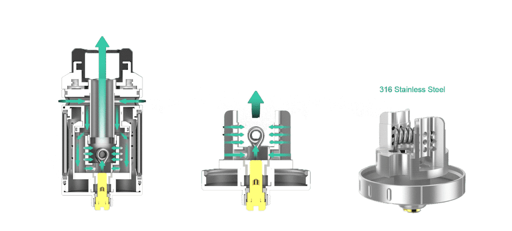 Présentation détaillé du système Airflow du Zeus De Geek Vape