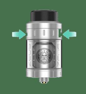 Système Airflow de l'atomiseur Zeus de Geek Vape