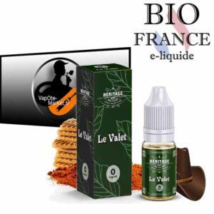 E-liquide Le Valet de BIO France Héritage